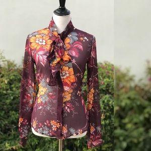 Dolce & Gabbana RARE Silk Blouse